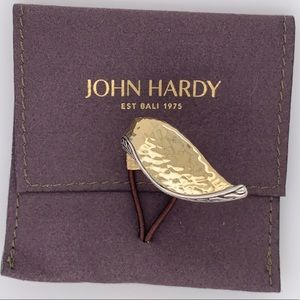 JOHN HARDY HAMMERED RING 18K GOLD & SILVER NWT$795